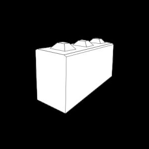 Normalformat-Block 40er 3/4