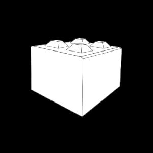Halbformat-Block